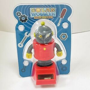 Solar Wobbler Collectable - Robot - For ages 3+ - Brand New