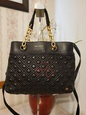 Tory Burch Handbags Fleming Small Tote black $498