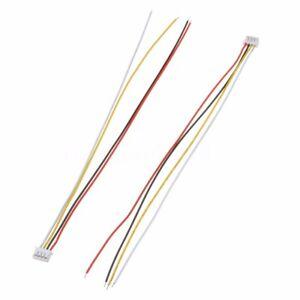 10 Sets JST ZH-1.5 28AWG 4-pin Anschlussstecker mit Drähte Kabel 150MM