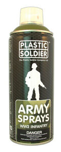Plastic Soldier Company   Russian Infantry Spray Paint SP007 * New *