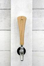 """Tap handle solid Oak wood beer wine coffee tap handle 7"""""""