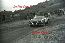 Alcide Paganelli Fiat 124 Abarth Rallye San Remo Rally 1973 Photograph 1