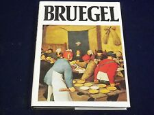 1985 BRUEGEL BY BOB CLAESSENS & JEANNE ROUSSEAU BOOK - COLOR PRINTS - KD 1708