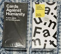 Cards Against Humanity 2 Box Bundle: CAH Base Game + Family Edition *BRAND NEW*