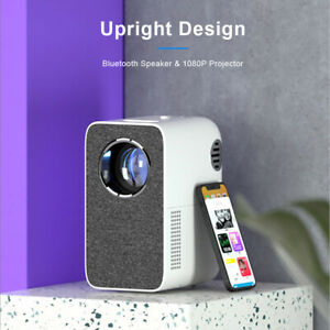 """1080P FULL HD WIFI Video Projector 200"""" Home Theater Projector Bluetooth Speaker"""