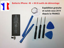 New Internal Battery Replacement with Flex Cable for IPHONE/4S 4 S Kit +8 Tools