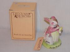 Collectible Avon Precious Moments Porcelain Figurine - Ready for an Avon Day