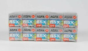 Pack of 10 Agfa AGFACHROME RSX II 120 slide Film 12 Exp. Expired 10.2002 Tested!