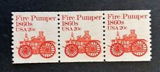 US Stamps, Scott #1908 20c 1981 Coil of 3. XF/Superb M/NH. Post Office fresh.