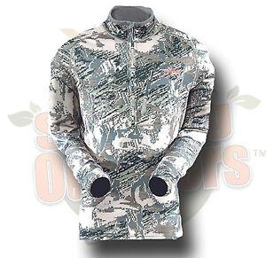 3XL Sitka Gear Traverse Zip T Shirt Optifade Open Country 70001-OB-3XL