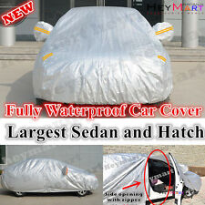 Car Cover for big Hatch Sedan Honda Accord Euro BMW 318i 320i Mazda 6 Audi A4 A5