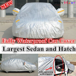 Large sedan hatchback Car Cover for Ford Falcon Camry BMW 5/6 series commodore