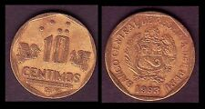 ★★ PEROU / PERU ● 10 CENTIMOS 1993 ● (ref37) ★★