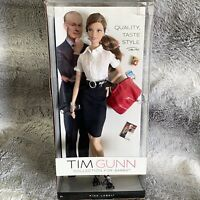 Tim Gunn Collection For Barbie Doll #2 Pink Label W3478 Brunette Model Muse NRFB