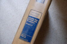 Caterpillar LEXION 460 465 Combine Service Manual repair maintenance owners book