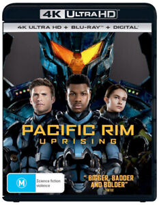 PACIFIC RIM: UPRISING (4K UHD / BLU-RAY) (2018) [NEW BLURAY]