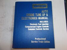 1989 MOTOR'S TUNE UP & ELECTRONICS MANUAL CHRYSLER EAGLE FORD CHEVY 85 86 87 88