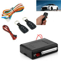Car Control Central Door Lock locking 2Pc Remote Key Entry System Electronic Kit
