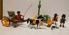 Playmobil 5250: Bandit  / Outlaws Hideout (Western) and extra Wagon + Horse etc