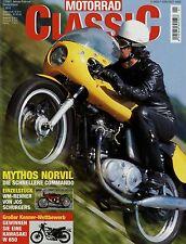 Motorrad Classic 1/03 2003 Ariel KH Bridgestone 125 Gilera B 300 René Gillet 750