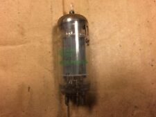 Vintage GE 6CG7 6FQ7 Tube 1966 Tests Very Strong Balanced
