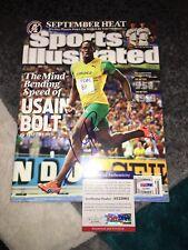 Usain Bolt Signed Sports Illustrated Full Magazine Fastest Man On Earth PSA/DNA