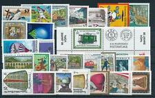 Austria Österreich 2001 Complete Year Set MNH