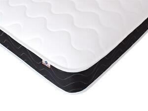 Capital Beds Luxury Black Border Sprung Mattress Shorty, 2ft6, 3ft 4ft, 4ft6 5ft
