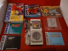 Super R.C. Pro-Am & F-1 Race Nintendo Game Boy COMPLETE w/ Box RARE Racing Set