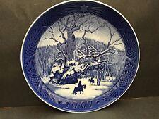Copenhagen Blue Plate 1967 The Royal Oak