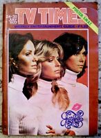 TV Guide 1977 Charlie's Angels Farrah Fawcett Kate Jaclyn International VG COA