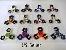 Wholesale Lot 8x Fidget Hand Tri Spinner Camouflage Camo Color Finger Toy styles