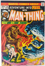 Adventure Into Fear #15 Man-Thing Bronze Age Marvel Comics VF/NM