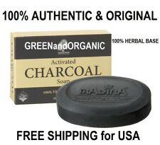 NATURAL Anti-Aging ACTIVATED CHARCOAL SOAP BAR Acne Pimples Detox Cleanse Herbal