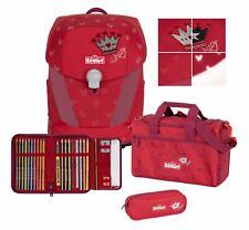 Scout Sunny II Set 4-teilig Premium Schulranzen Tasche Red Princess Rot