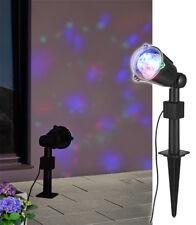 LED Licht Projektor  Party Strahler Innenbeleuchtung Außenbeleuchtung farbig NEU