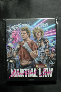 Martial Law 1 & 2 - Vinegar Syndrome US VSA Street Fighter Blu Ray