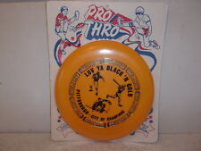 Whirley Pro Thro Pittsburgh Steelers/Penguins/Pirates Frisbee - NOS