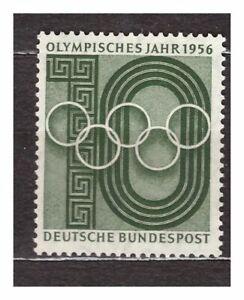s31566) GERMANY 1956 MNH** Olympic year 1v