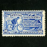 US Stamps # E6 F+ Fresh OG LH Scott Value $230.00