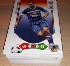 LOTTO 100 CARDS ADRENALYN CALCIATORI PANINI 2010/11 DIVERSE 2011 CALCIO STOCK