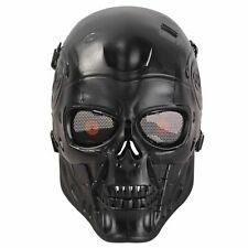 Military Tactical Terminator Skull Cs War Game Airsoft Full Face Mask Halloween