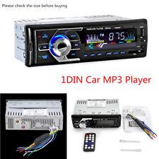 1 Din 12 V Universel Auto Bluetooth Lecteur MP3 Audio Stéréo FM USB/Aux mains-libre