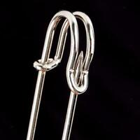 4x 50//63//76mm Large Durable Strong Metal Kilt Scarf Brooch Safety Pins Crafts 0c