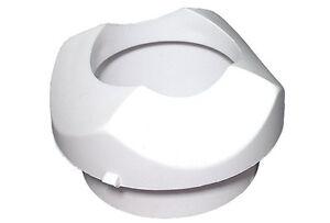 Jacuzzi Whirlpool Bath - On off Air Actuator Bezel Sleeve (White) - 8247940