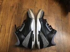 Jordan III Black Cement 3 & Motorsport 6 Beaters Sz 9.5