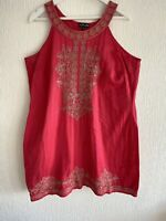 PINK GOLD EMBROIDERED DRESS SUMMER HOLIDAY IBIZA MARBS PRETTY GLAM SUN CHELSEA
