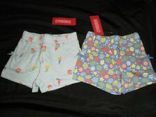NWT Gymboree Girls MERMAID MAGIC Knit Shorts Blue Ocean Sea Shells Lot 12 18 NEW