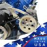 Ford Power Steering Bracket Electric Water Pump 289 302 351W Billet Aluminum SBF