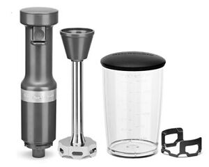 KitchenAid® KHBV53 Variable Speed Corded Hand Blender *New Charcoal Gray*